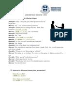 Grammar Worksheet Basic Unit 1 Simple Present 5