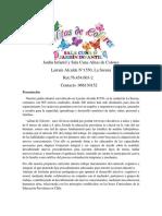 FICHA DE INGRESO JARDIN INFANTIL