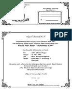 Model Undangan seri maulid.doc