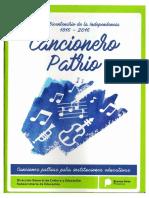 Cancionero Patrio PDF