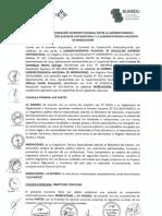 Convenio de Cooperacion Interinstitucional Entre Sunedu y Migraciones