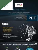 Core - Core Network Evolution Towards 5G