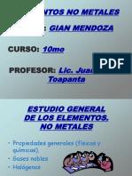 Presentacion Elementos No Metales