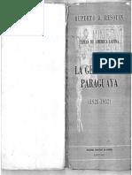 La Generacion Paraguaya 1928-1932, Ruperto Resquin