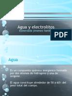 Agua y Electrolitos Diapositivas