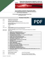 PA Seminar Programme 2018 - V16