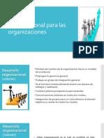 Desarrollo Organizacional. Aly