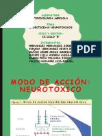 INSECTICIDAS NEUROTOXICOS EXPOSICION