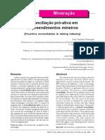 Revista bRASILEÑA -Reconciliação pró-ativa em empreendimentos mineiros.pdf