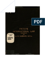 Private International Law (Hassard)