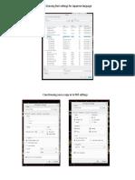 Creo to PDF Settings