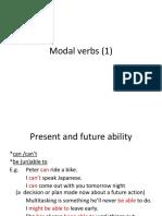 Modal Verbs C1