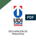 Declaración Principios UDI