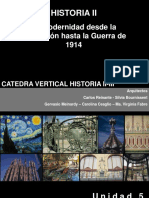 Clase Vang y Modernismos h2 2012