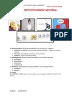 Desarrollo de La Inteligencia Emocional en Lo Personal y Laboral Actividad 1