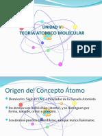 Unidad v Teoria Atomico Molecular-Estructura Atomica