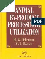 Ockerman and Hansen 2000, Animal by-product Processing & Utilization