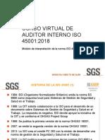 Auditor Interno Virtual ISO 45001-2018 (Solo Norma)