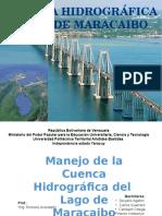 MANEJO DE LA CUENCA HIDROGRAFIA LAGO DE MARACAIBO VENEZUELA PRESENTACION