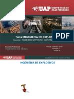 Diapositivas de Ingenierias de Explosivos Voladura de Rocas