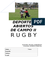 Cuadernillo Rugby Completo 2016