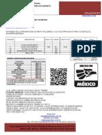 SICMA%2c S.A. DE C.V. COTIZACION S-3256 PERALTE 15+5  VIGUETA Y BOVEDILLAS.pdf