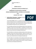 Laive-Auditoria (Memorandum y Planificacion )