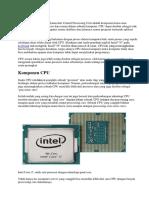 Pengertian CPU