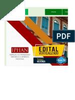 Edital Verticalizado - IPHAN - Técnico I - História (Área 10)