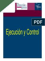 Ejecucion y Control