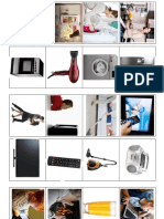 Asociacion Con Funcion- Electrodomesticos