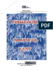 Pedagogía Kant