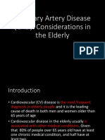 CAD in Elderly
