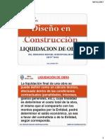 Liq. de Obras