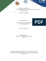 100401_13-Unidad 3 Fase 5 -Diferenciación e Integración Numérica y EDO_Aporte Individual_Yan_Salazar