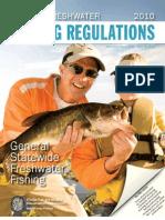 Florida Freshwater Fishing Regulations 2010