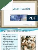 ADMINISTRACION HISTORIA ORIGEN PRINCIPIOS TIPOS