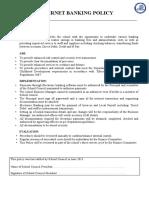 48. Internet Banking Policy R0613