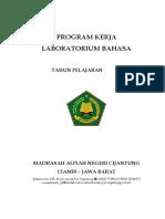 Program Kerja Lab. Bahasa.doc