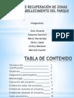 proyectoderecuperacindezonasverdesyembellecimientocompleto1-140821092734-phpapp01