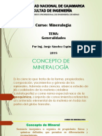 Generalidades Básicas Mineralogía