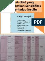 obat-obat yang meningkatkan sensitifitas sel terhadap insulin