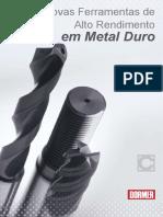 Classes de Materiais e Ferramentas de Metal Duro
