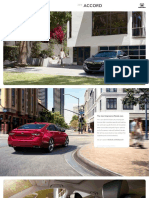 MY18 Accord Brochure Model Site