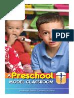 Preschool Model Classroom