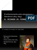 Tema 2 Fernando VII