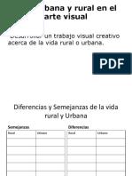 Vida Urbana y Rural en El Arte Visual