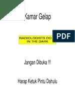 Stiker Kamar Gelap
