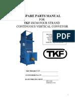 Continuous Vertical Lift Spare Parts