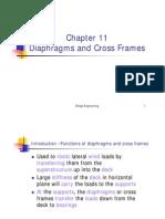 Bridge Design Diaphragms Ch11notes_pdf